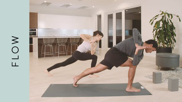 Dynamic Flow Yoga (60 min) — with Sas...