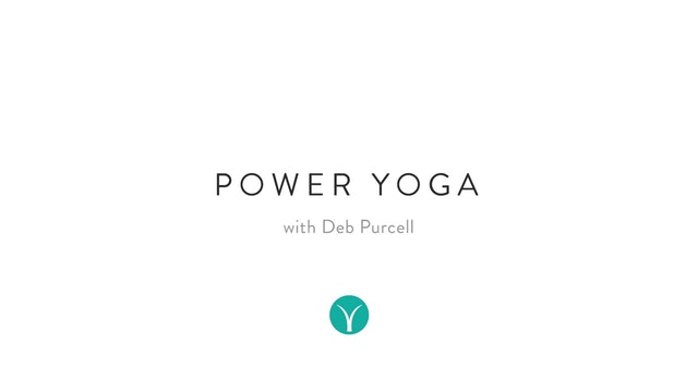 Intermediate Energizing Power (47 min) - with Deb Purcell
