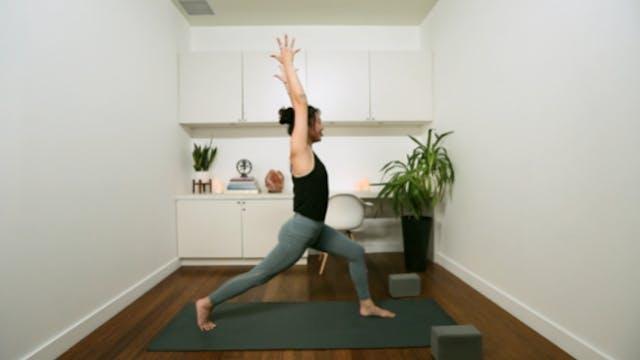 Sweet Flowy Flow Yoga (35 min) — with...