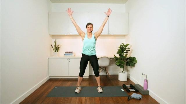 Full Body Express Workout (30 min) - with Hana Weinwurm