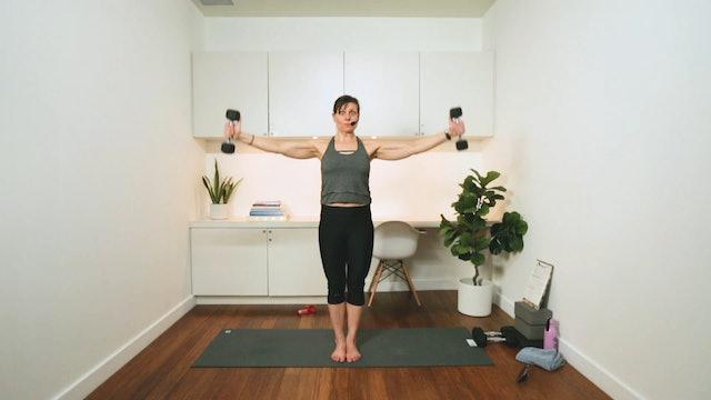 10 Minute Tone: Shoulders (10 min) - with Hana Weinwurm