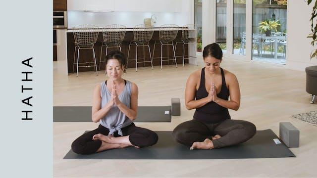 Hatha w/ Sound Bowl Meditation (45 mi...