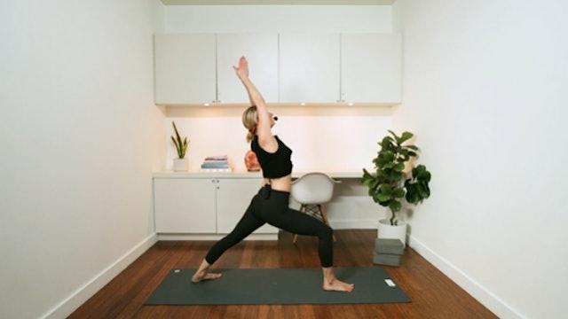 Vinyasa Flow Yoga (60 min) - with Jayme Burke
