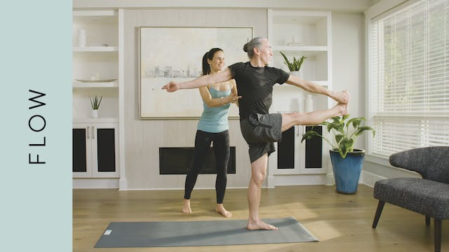 Energetic Flow Yoga (50 min) — with J...