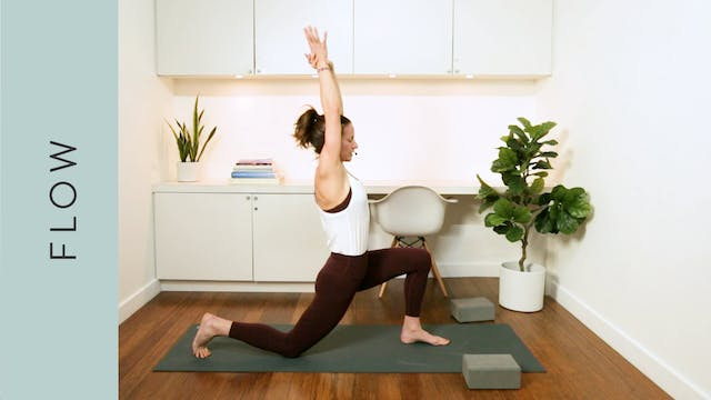 Side Body Flow Yoga (45 min) — with K...