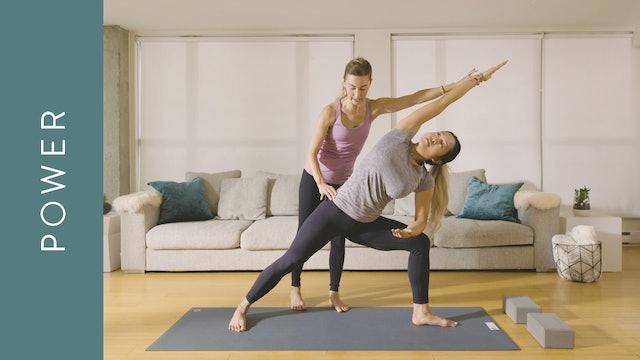 Power Yoga: Sweaty and Energizing (20 min) — with Jayme Burke