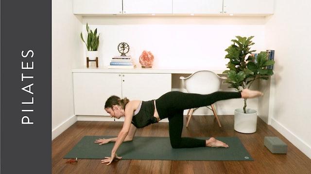 Powerful Pilates (45 mins) – with Alison Klektau