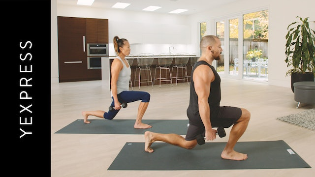 YSculpt for Strength and Endurance (30 min) — with Francarlos Leon