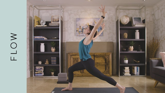 Flow Yoga: Travel and Office Friendly (15 min) — with Rachel Scott