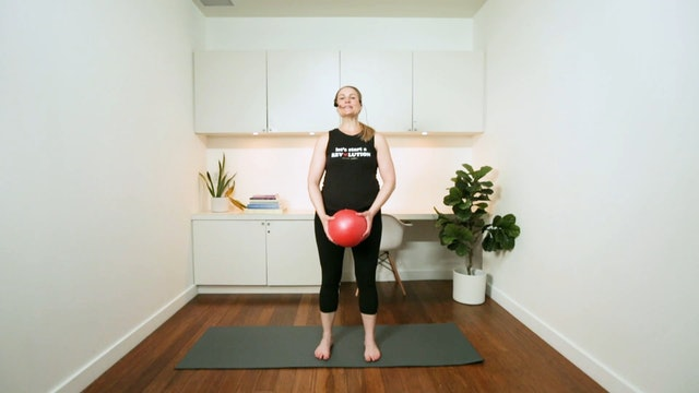 Pilates with a Small Ball (30 min) - with Alison Lloyd-Nijjar