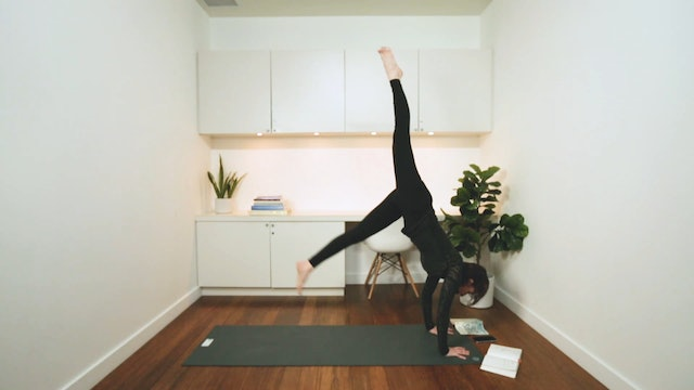 Power-Flow: Playing with Vasisthasana (45 min) - with Deb Purcell