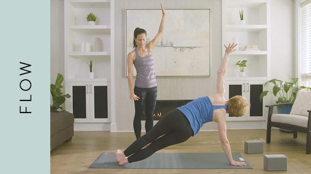 Flow Yoga: Nourishing Evening Practice (40 min) — with Jasmina Egeler