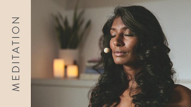 Meditation: Muladhara Chakra (5 min) — with Farzana Jaffer Jeraj