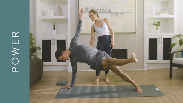 Energizing Power Yoga: Intermediate (60 min) — with Mari Dickey