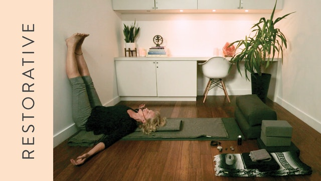 Restorative Yoga for Sleep (45 min) – with Annabel Kershaw