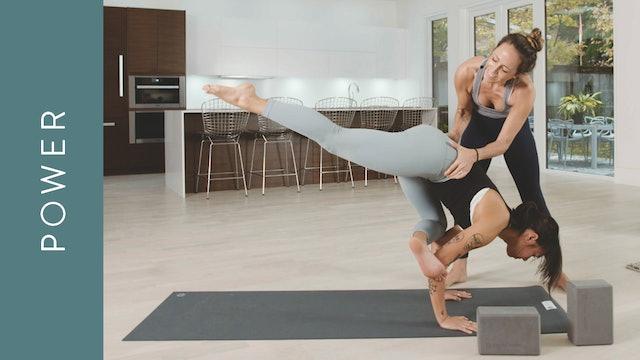 Power Yoga Intermediate: Birds & Bugs (75 min) — with Mari Dickey
