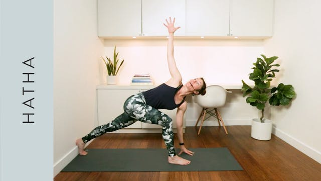 Apartment Hatha Yoga for Small Spaces...