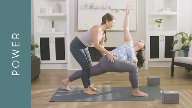 Power Yoga: Deep Twisting Practice (60 min) — with Kate Gillespie