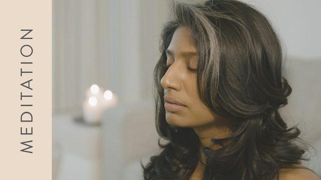 Meditation for Emotional Stress (10 min) — with Farzana Jaffer Jeraj