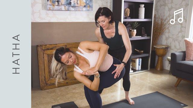 Hatha Yoga (30 min) — with Rachel Sco...