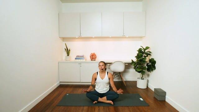 Fiery Flow Yoga (55 min) - with Kyra ...