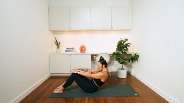 Upper Body Pilates (26 min) - with Vanessa Bourget