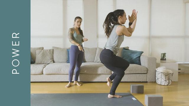 Power Yoga with Harmonium (30 min) — with Crystal Rainbow Borrelli