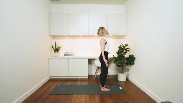 Flow Yoga: Morning Sun Salutations (30 min) - with Jayme Burke