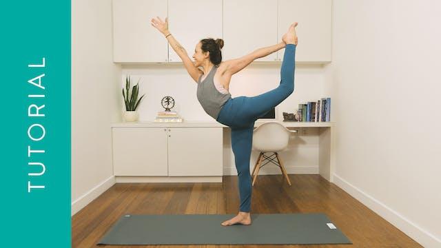 Tutorial: How to do Dancer's Pose (5 ...