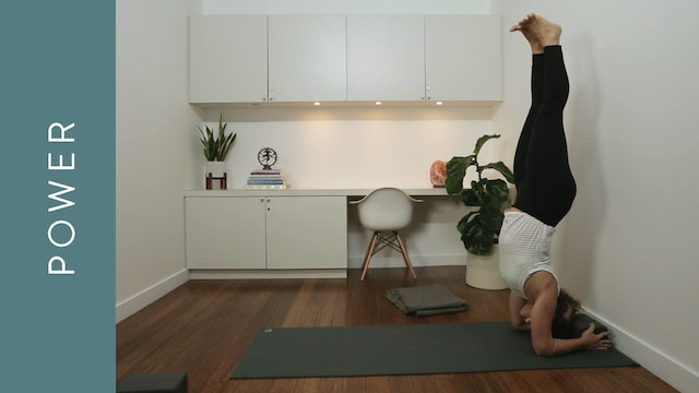 Power Yoga: Forearm Stands (30 min) — with Kate Gillespie