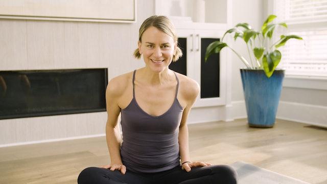 Live Stream Yin & Meditation (60 min) Meridians - with Lisa Sanson