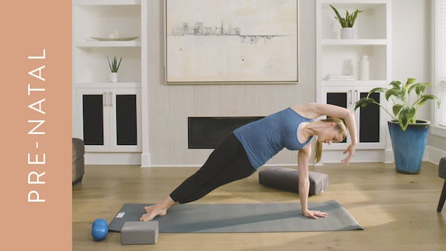Pilates: Pre-Natal (40 min) — with He...