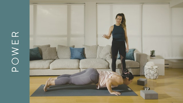 Power for a Strong Back (45 min) — with Christie Baumgartner