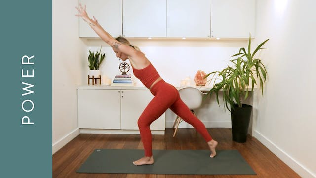 Power with Cardio (40 min) — with Mik...