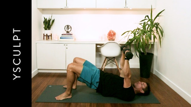 YSculpt: Chest and Triceps (20 min) - with Clem Duranseaud