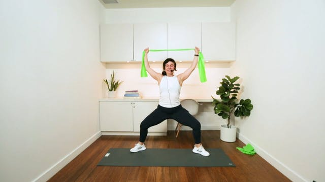 Full Body Resistance Band Workout (20...