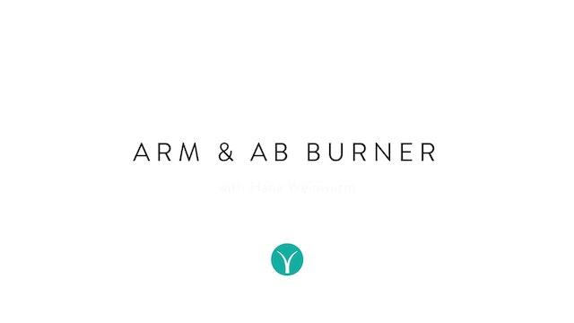 Arm & Ab Burner (20 min) - with Hana Wienwurm
