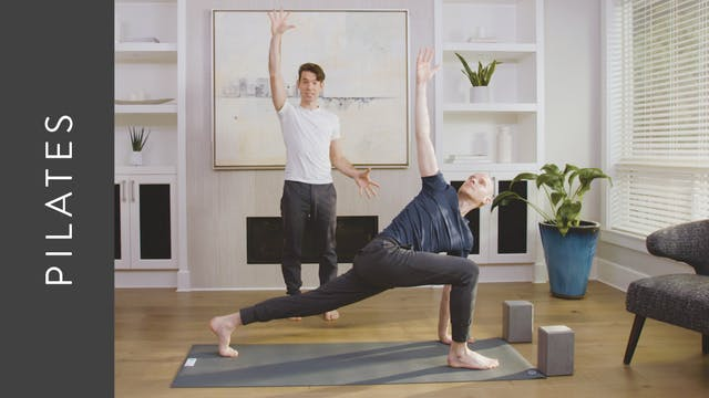 Pilates and Flow Yoga (30 min) — with...