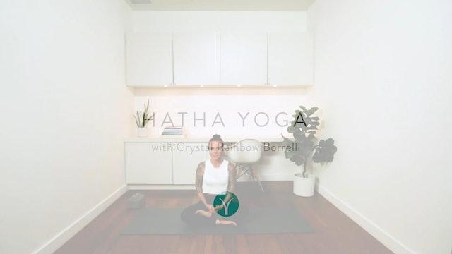 Hatha Yoga: Root to Rise (45 min) - with Crystal Rainbow Borrelli