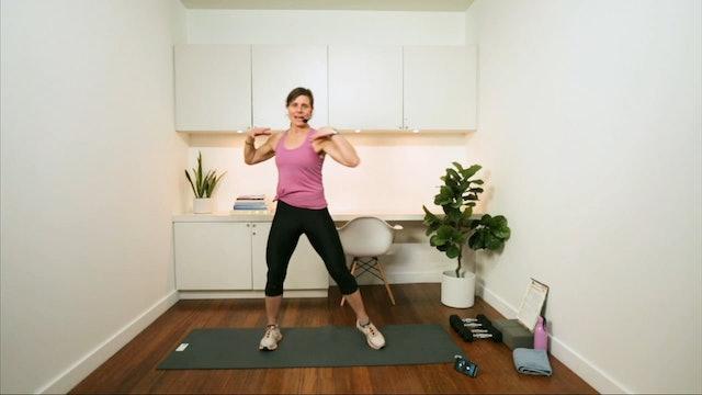 Total Body Express Workout (30 min) - with Hana Weinwurm