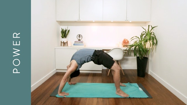 Full Body Fiery Power Yoga (60 min) — with Jeremy Laroya