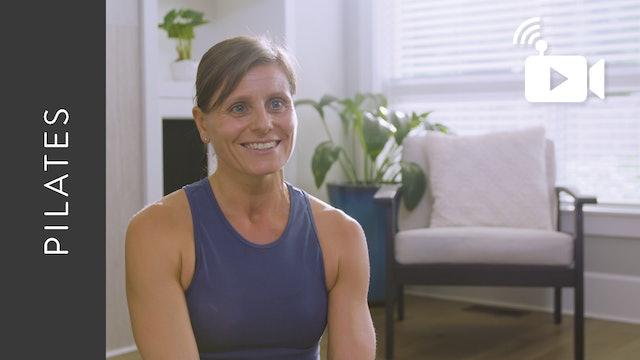 Live Stream Pilates Fusion (60 min) - with Hana Weinwurm