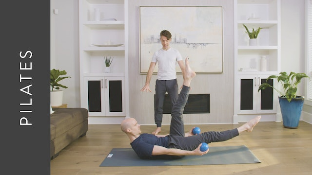 Pilates Fusion with Weights (45 min) — with Juan Villegas