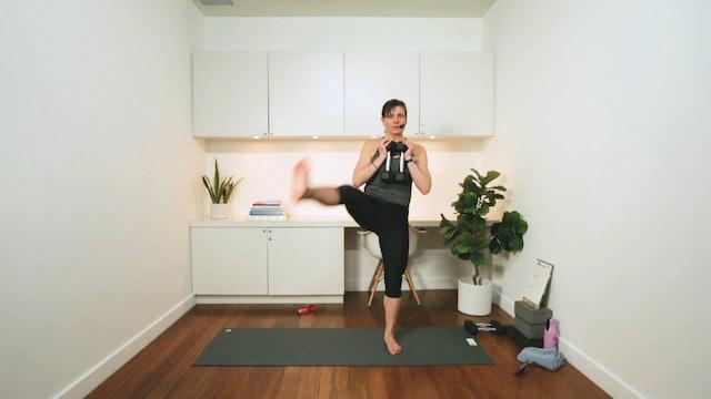 10 Minute Tone: Thighs (10 min) - with Hana Weinwurm