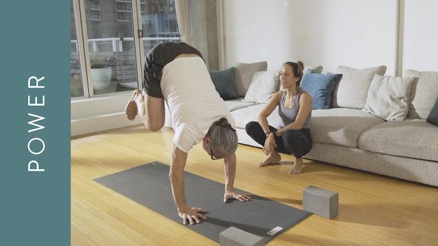 Power Yoga: Intermediate (60 min) — with Mari Dickey