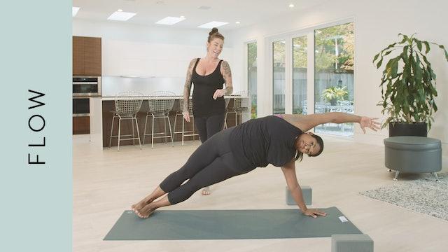 Flow Yoga: Shakti Power Flow (45 min) — with Shannon Ferguson [with Music]