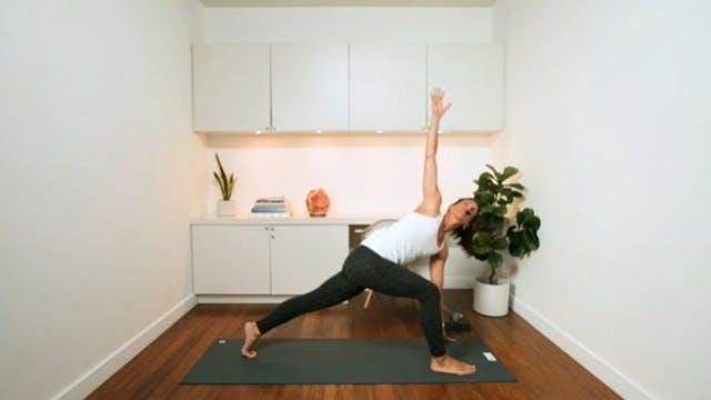 Mindful Full Body Flow (45 min) - wit...