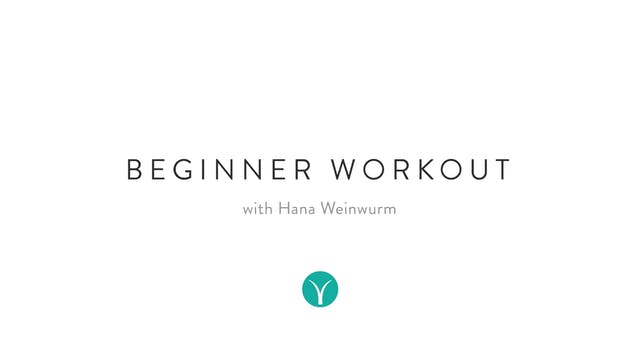 Beginner Workout (20 min) - with Hana...