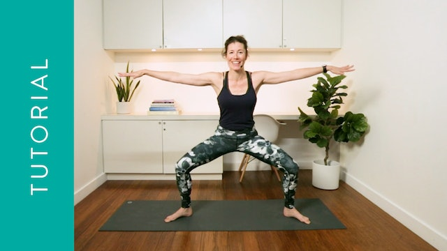 Tutorial: Goddess Pose (5 min) – with Rachel Scott