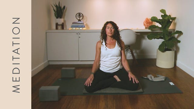 Meditation for Anxiety (10 min) — with Shelley Tomczyk